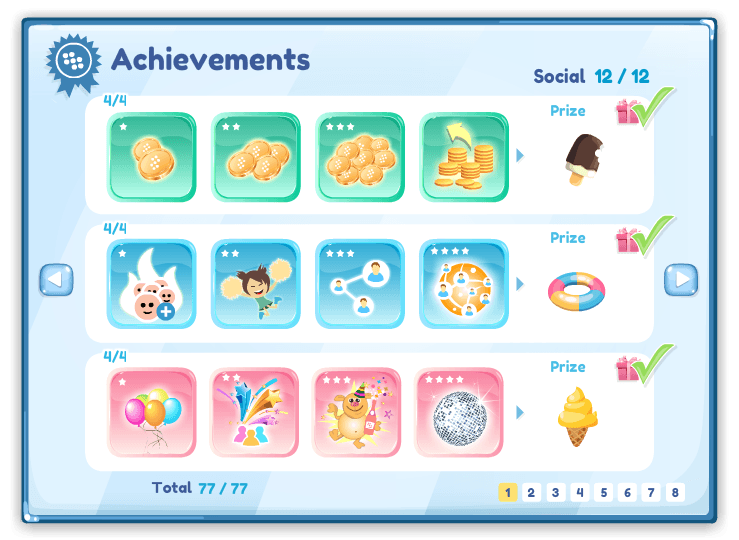 what are achievements